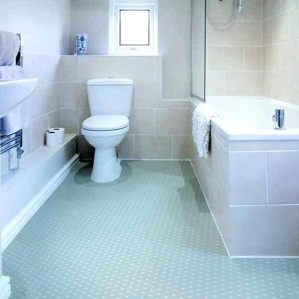 Vinyl Flooring Bathroom, Blue Bathroom Flooring