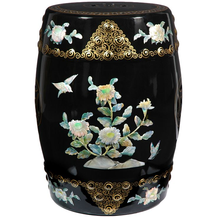 Classic Garden Stool from Oriental Furniture