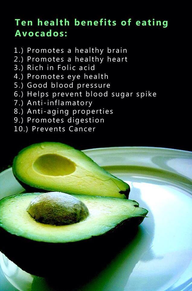 Benefits of avocados