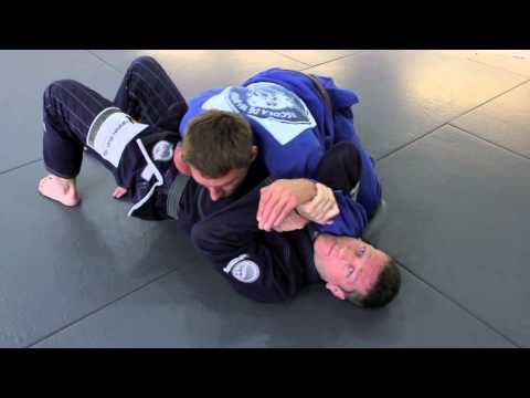 Surprise BJJ attack - submission from underneath side control - YouTube