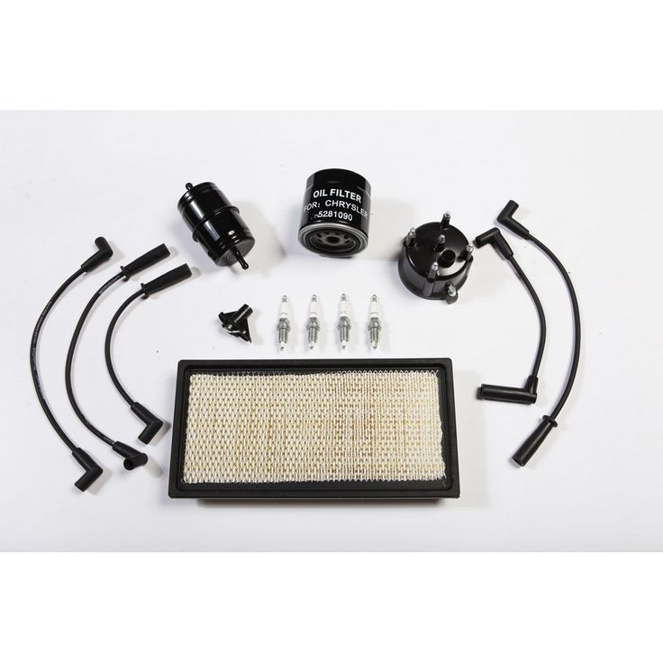 Ignition Tune Up Kit, 2.5L; 94-95 Jeep Cherokee XJ