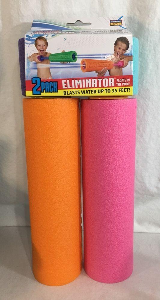 Max Liquidator 2-Pack Eliminator Prime Time Toys Pool Squirter Summer Fun #PrimeTimeInternational