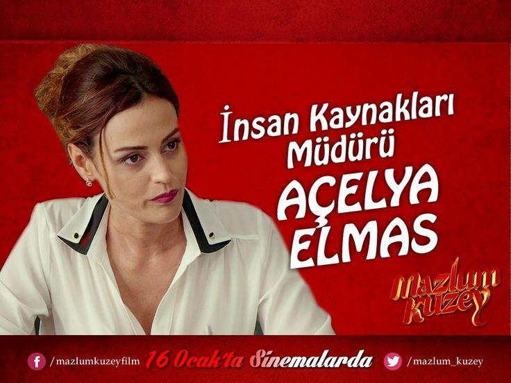 #MazlumKuzey Oyuncular - Karakterler   Açelya Elmas - İnsan Kaynakları Müdürü