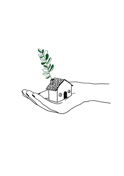 choose a smaller home; it has less impact on the earth and saves money too.