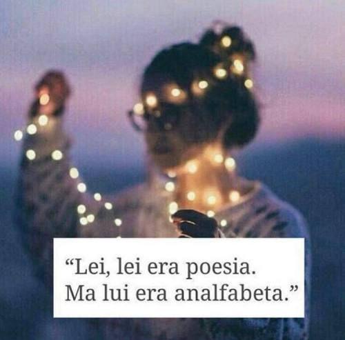 Analfabetismo e poesia