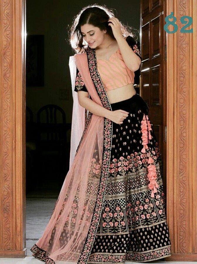 Indian Party Wear Wedding Bollywood Designer Lengha Ethnic Bridal Lehenga Choli