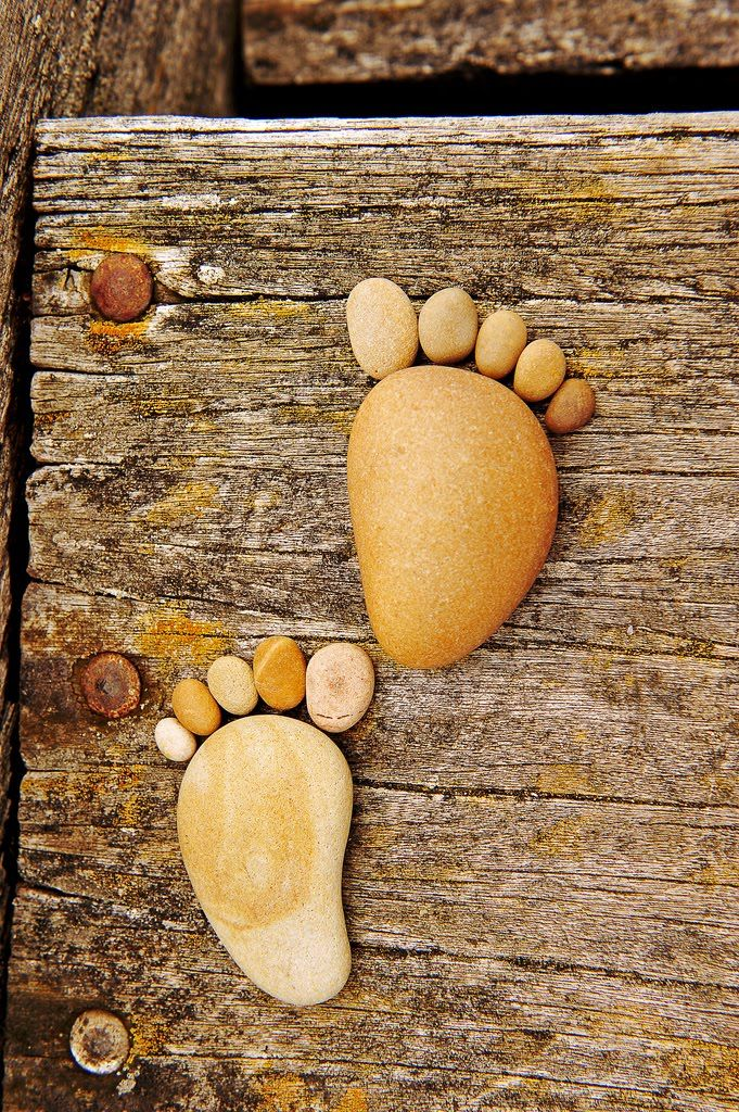 Stone Footprints | See More Pictures