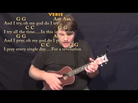 What's Up (4 NON BLONDES) Ukulele Cover Lesson in G with Chords/Lyrics - YouTube