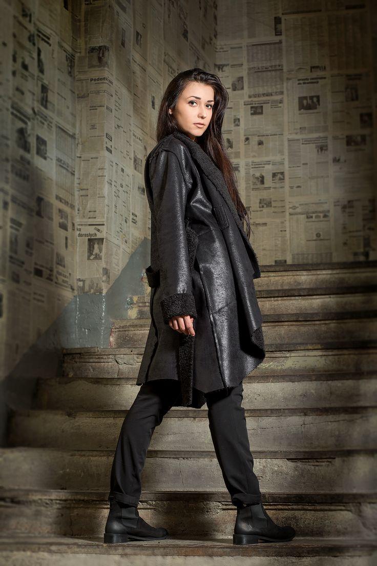 Kożuszek.  Sheepskin coat. http://www.bee.com.pl/e-sklep/