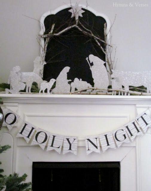 DIY Nativity set