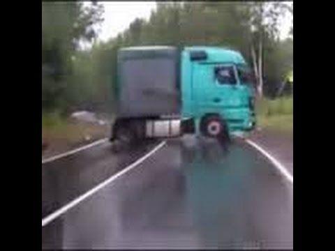 Caminhão, Uma Carreta Derrapando Para Cima De Você O Que Você Faria? Que...
