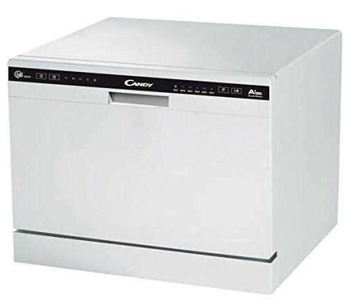 Candy – Lave vaisselle CANDY CDCP6E: Nombre de couverts 6 Affichage LEDS Départ différé 2-4-8 H Niveau sonore51 dBa Affichage du…