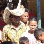 Topi a head worn by the kings of Rote Island