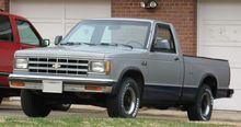 Chevrolet S-10 -single cab 1982-1990 -1gen.
