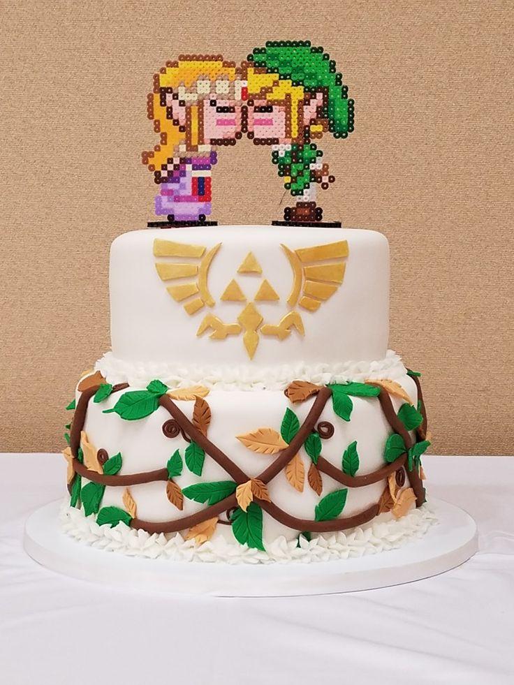 Legend of Zelda grooms cake