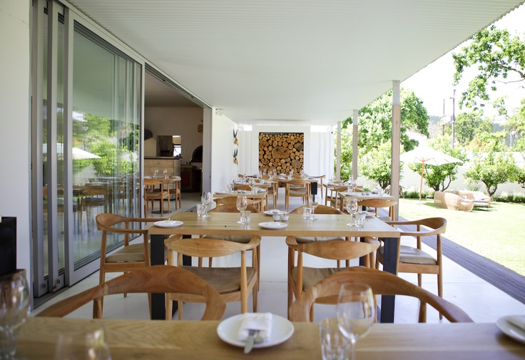 Maison Estate in Franschhoek - wine tastings + food
