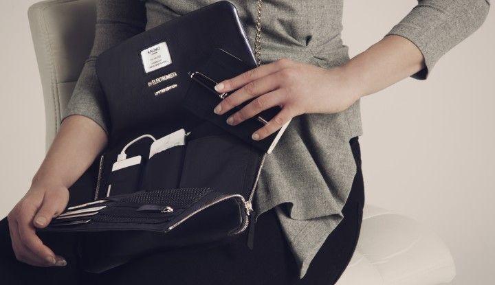 Den er FOR fantastisk til ikke at hænge på min skylder: Elektronista clutchen, designet og udviklet af Christiane Vejlø, er både smuk og praktisk til alt mit online-gejl :)