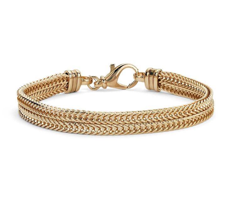 Blue Nile Twist Bangle Bracelet in 14k Rose Gold jhhssH