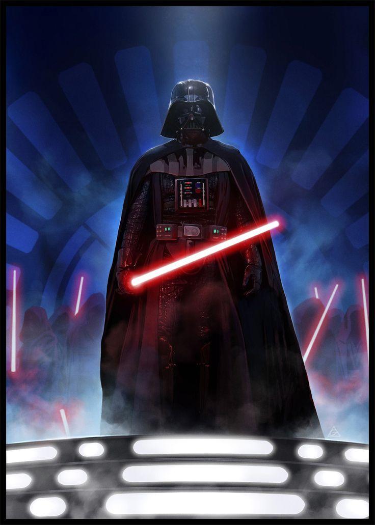 Star Wars - Darth Vader and Co by jamga