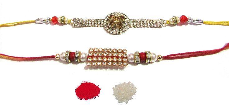 #NKY #Rakhi Unique Design #Rakhi Set Of 2 Rakhi For #Brother With Roli Chawal #Rakshabandhan Special