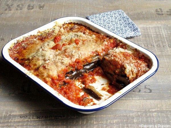 Aubergines à la Parmigiana façon Jamie Oliver »