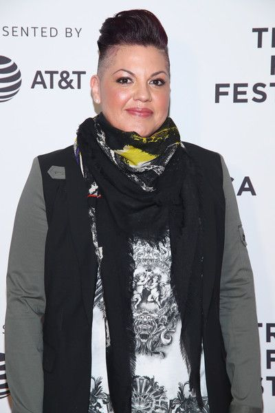 "Sara Ramirez Photos Photos - Producer Sara Ramirez attends ""The Death and Life of Marsha P. Johnson"" Premiere during 2017 Tribeca Film Festival at Cinepolis Chelsea on April 21, 2017 in New York City. - ""The Death and Life of Marsha P. Johnson"" Premiere - 2017 Tribeca Film Festival"