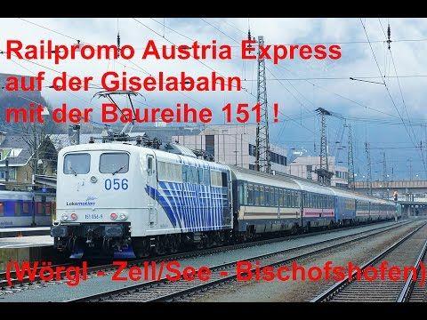 4K Cabview / Führerstandsmitfahrt BR 151 @ Reisezug! Pass Grießen / Gise...
