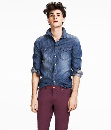 Chemise en jean, H