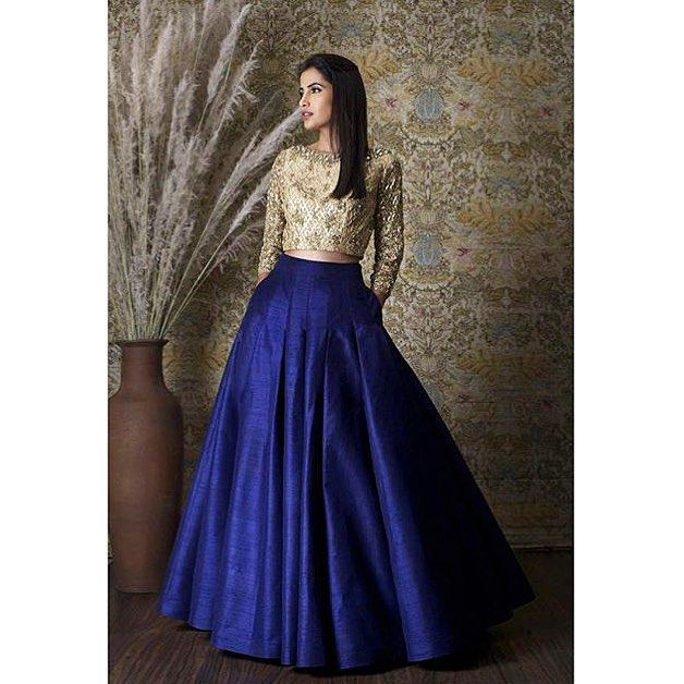 #Repost from @Aashniandco. Couture by @Rimple_Harpreet_Narula by desi_couture