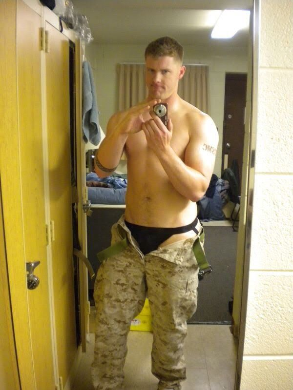 Men Sexy naked marine