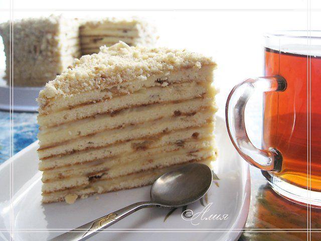 Кулинарная книга Алии: 133. Торт на сковороде