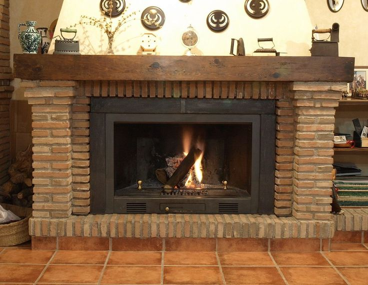 chimeneas de leña rusticas - Google Search