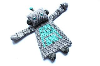Robot Ragdoll crochet pattern by A la Sascha