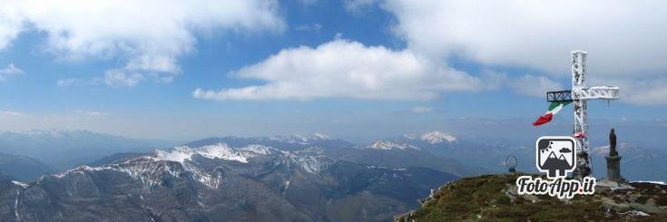 Foto di di Viglio Ferrari - scattata da Monte Cusna sommità