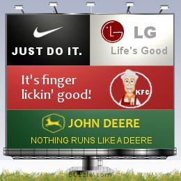 Famous Advertising Slogans - when teaching appeals used by the media & rhetoric.