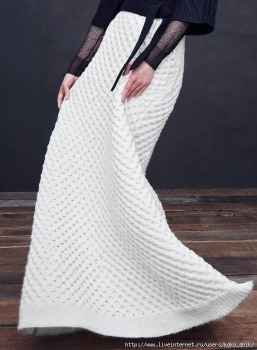 Пальто, свитер-туника, юбка из коллекции дизайнера Kim Haller Fall 2015