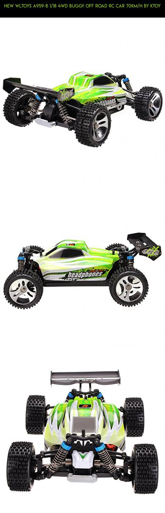 New WLtoys A959-B 1/18 4WD Buggy Off Road RC Car 70km/h By KTOY #camera #drone #kit #shopping #parts #fpv #gadgets #4wd #products #plans #racing #wltoys #rc #technology #tech