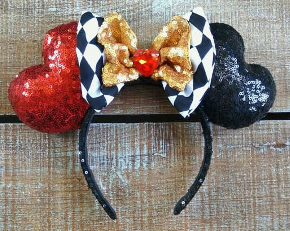 Queen of Hearts ears just in time for Valentine's Day
