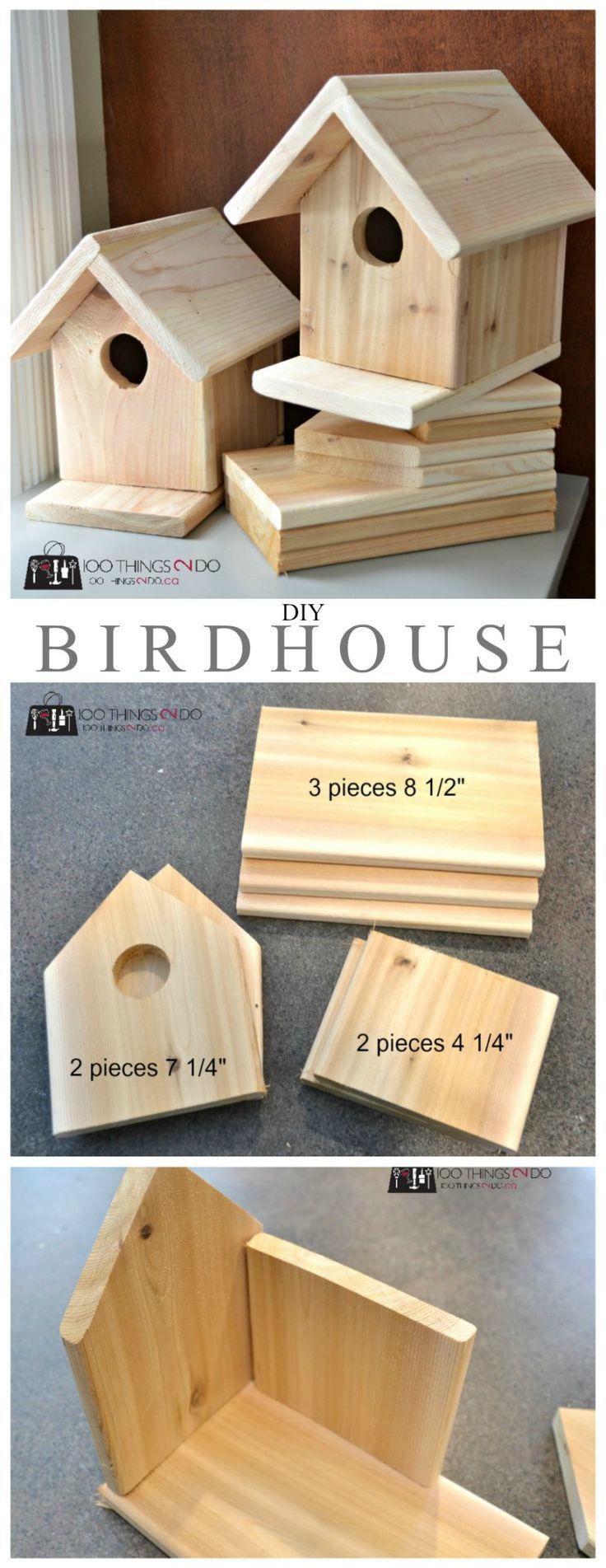 Bat house plans woodwork city free woodworking plans - Diy Birdhouse Plans
