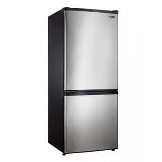 Danby DFF092C1BSLDB 9.20 cu. ft. Refrigerator Black and Stainless Steel | Overstock.com Shopping - The Best Deals on Refrigerators