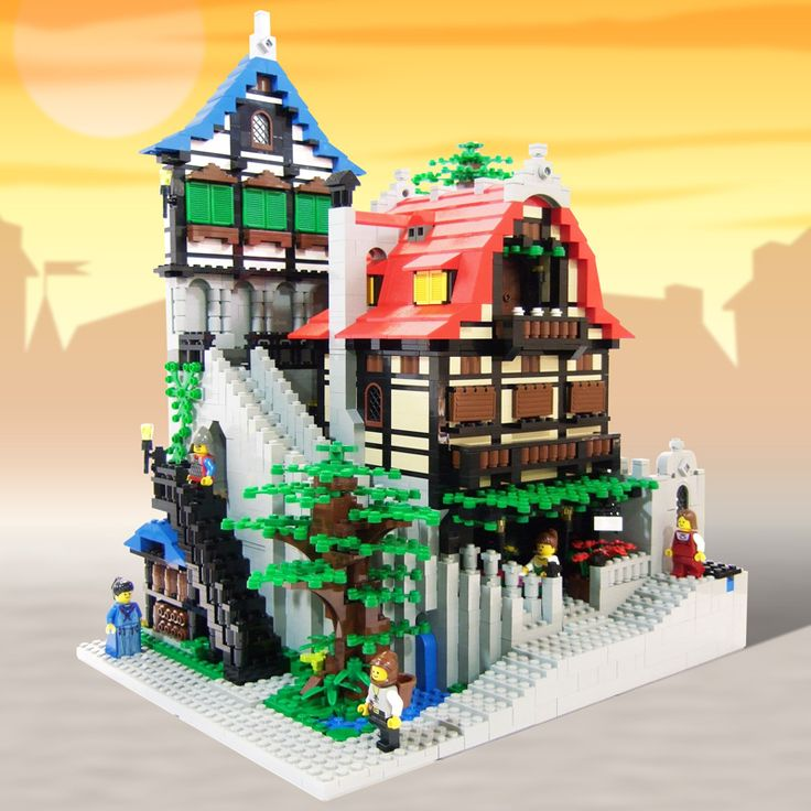 elsa castle lego instructions