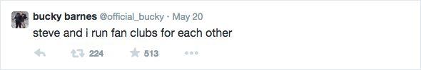 Bucky tweets