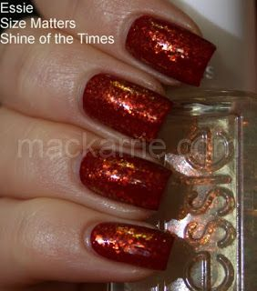 MacKarrie Beauty-Style Blog: Essie Size Matters, Shine of the Times