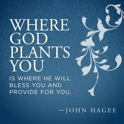 """Quote from Pastor John Hagee's book, """"The Power of the Prophetic Blessing""""."""