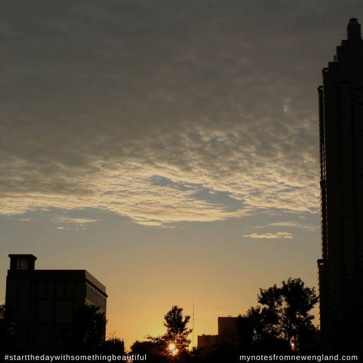Early morning in Atlanta, George #startthedaywithsomethingbeautiful