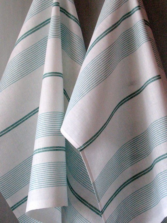 Linen Dish Towels Tea Towels set of 2 by Coloredworld on Etsy, $15.90