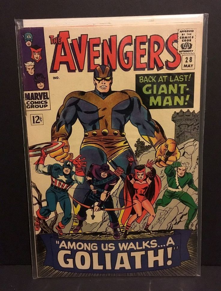 AVENGERS 28 1st Appearance THE COLLECTOR Marvel Comics Jack Kirby 1966 FN/VF  | eBay