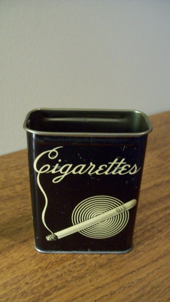 cigarette tin