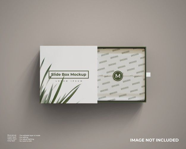 Download Close Up On Slide Box Mockup Isolated Slide Box Box Mockup Mockup