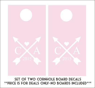 Unique Cornhole Board Decals Ideas On Pinterest Cornhole - Diy custom vinyl stickers